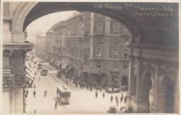 GENOVA- PONTE MONUMENTALE E VIA XX SETTEMBRE  BELLA FOTO D´EPOCA ORIGINALE 100% - Genova