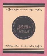 F -   Manchette J.P Gaultier - Classique Boite à Musique    (14,2 Cm X 12 Cm) - Cartes Parfumées
