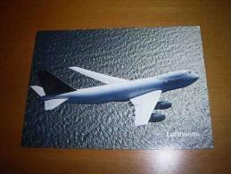 CPM Avion ALLEMAGNE - Lufthansa - BOEING 747 - PORT GRATUIT - 1946-....: Moderne