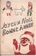 42-Loire-Violay- - 1947-journal  Mensuel-conte Illustré D´élèves:D.Fonton-Y.Coste-E.Linder-- Ect .Joyeux Noel-.. - Diplomas Y Calificaciones Escolares