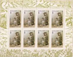 Soviet Union MNH Sheetlet - Rodents