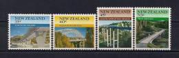 NUEVA ZELANDA 1984 , YVERT 897/900** PUENTES - Bridges
