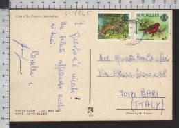 B7945 SEYCHELLES Postal History ANIMAL - Seychelles (1976-...)
