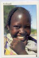 Tchad--N'JAMENA--Aimable rencontre d'une jeune fille au sourire �blouissant sur les Bords du Chari,cpm Coll Dialogue
