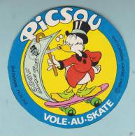PICSOU VOLE AU SKATE WALT DISNEY - AUTOCOLLANT (790) - Autocollants