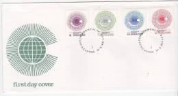 Singapore 1983 Commonwealth Day FDC - Singapore (1959-...)