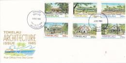 Tokelau 1985  Architecture FDC - Tokelau