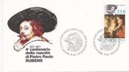Vatican City 1977 Rubens FDC - FDC
