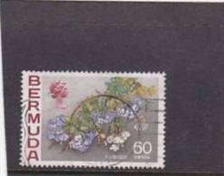 Bermuda  1970 QE II  Plumbago Used - Bermuda