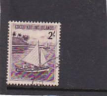 Cocos Islands  1963 Dukong  2 Shillings Used - Cocos (Keeling) Islands