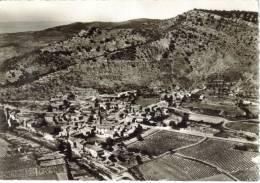 CPSM SAINT SAUVEUR DE CRUZIERES (Ardèche) - Vue Générale Aérienne - France