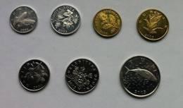 CROATIA - Lot 7 Coins 2005 - Croatia