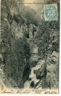 CPA 64 LARUNS PONT ET GORGE DU HOURAT 1904 - Laruns
