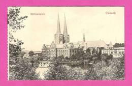Lübeck - Mühlenteich - VENUS-LICHTDRUCK - Luebeck