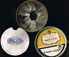 """Italia Contenitore Di Tabacco Vuoto In Metallo (completo) """"Robert Mc Connell"""" ORIENTAL Con Confezione Interna - Contenitori Di Tabacco (vuoti)"""