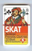 Skat-Spiel, Französisches Blatt - Kartenspiele (traditionell)
