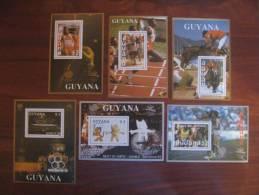 Guyana 1988  MNH  BL 43.48 - Ete 1988: Séoul