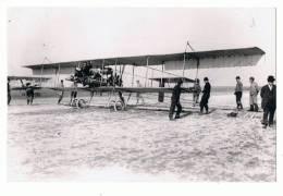 PHOTO S.A.F.A.R.A. - N°468 - ANNEE 1912 LE LIEUTENANT MALLEFER SUR H. FARMAN DANS LE PRIX AERO CIBLE MICHELIN - ....-1914: Précurseurs