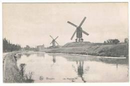 BRUGES - Les Moulins Et Château - (Nels Série 12) - Brugge