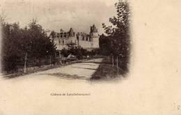 LAROCHEBEAUCOURT (29) LE CHATEAU - CPA N/B - VOYAGEE EN 190? - DOS NON DIVISE - France
