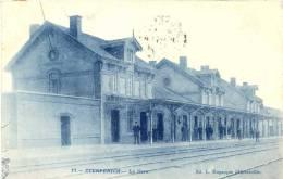 BELGIUM STERPENICH STATIE  STATION GARE DISPERSION D'UN BEL ENSEMBLE DE VUE DE GARE - Arlon