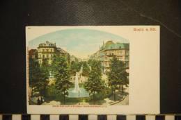 CP, Allemagne, Koeln Am Rhein Hohenstaufenring Mit Barbarossaplatz Druck And Verlag VG Blumlein And Co - Koeln