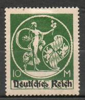 BAVIERE  10m Vert 1920 N°214 - Bayern