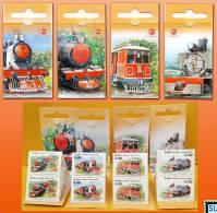Sri Lanka Stamps 2011, Viceroy Steam Train, Trains, Locomotives, Booklets - Sri Lanka (Ceylon) (1948-...)
