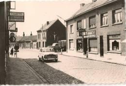 Rare CPSM 1er Plan Peugeot 403  Vue Vers La Douane Mouscron Risquons -Tout    (59) - Voitures De Tourisme