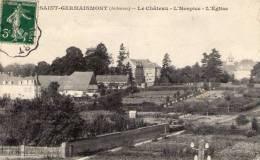 08 Saint Germainmont, Le Chateau, L'hospice, L'église - Sonstige Gemeinden
