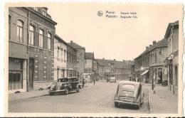 Rare CPSM  Autos Anciennes 1er Plan Poste De Douane  De Menin   (59) - Douane