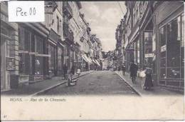 MONS : RUE DE LA CHAUSSEE (BELLE ANIMATION : NOMBREUX DETAILS) - Mons