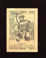 NANCY CHOCOLAT LORRAIN IMAGE DEVINETTE GUILLAUME TELL POMME ARC - Unclassified