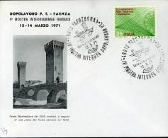 FAENZA MOSTRA DOPOLAVORO FILATELIA 1971 ANN SPEC - Esposizioni Filateliche