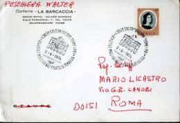 SALSOMAGGIORE TERME XIX EFIST FILATELIA TEMATICA 1974 ANN SPEC - Esposizioni Filateliche