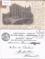 MONS : EGLISE SAINTE-WAUDRU EN 1900 - Mons
