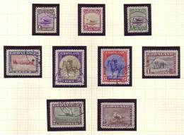 """Greenland - Scott # 10-18 VF Used  """"the American Issue"""" - Groenland"""