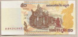Cambogia - Banconota Non Circolata Da 50 Riel - 2002 - - Cambodia