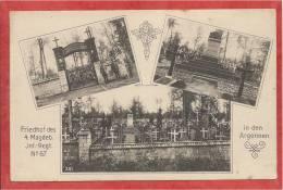 08 - ARGONNEN - ARGONNE  - Carte Allemande - Friedhof - Cimetière - Guerre 14/18 - Frankreich