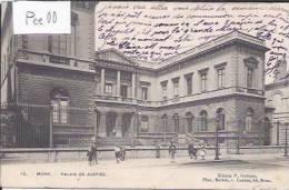 MONS :  PALAIS DE JUSTICE (BELLE ANIMATION) - Mons