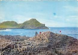 Giant's Causeway, Co Antrim, Northern Ireland Postcard Used Posted To UK 1963 Stamp - Antrim / Belfast