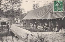 28 THIRON GARDAIS  Beau Plan Animé  LAVOIR Communal  Femmes à La Lessive En 1907 - Frankreich
