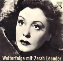 * LP *  WELTERFOLGE MIT ZARAH LEANDER (Switzerland 1966 EX!!!) - Sonstige - Deutsche Musik