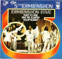 * LP *  THE FIFTH DIMENSION - DIMENSION FIVE (England 1970) 5th DIMENSION - Soul - R&B