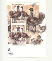Mint Stamp Birds Bustards  2011 From Slovakia - Vogels