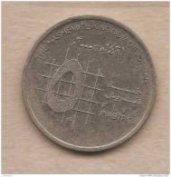 Giordania - Moneta Circolata Da 5 Piastre - Jordanie
