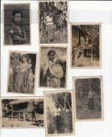Asie Du Sud Est -femmes-pêle Mêle De 8 Photos - Lieux