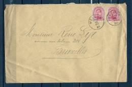 Nr 138 Op Brief Van Melden Naar Bruxelles 10/12/1920 (GA5667) - 1915-1920 Albert I