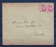 Nr 138 Op Brief Van Berzée Naar Bruxelles 07/12/1920 - Sterstempel (GA5673) - 1915-1920 Albert I