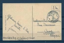 Postkaart Naar Ciney - Legerposterij/Postes Militaires - 17/11/1922 (GA5685) - Belgio